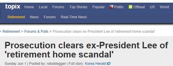 Capture Topix retirement home scandal