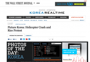 WSJ Helicopter Crash and Rice Protest featured image