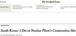 Capture NYT Nuclear Plant site 2 dies