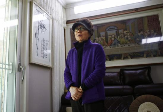 Im, whose husband is a convicted crew member of sunken ferry Sewol, speaks with Reuters in Jindo