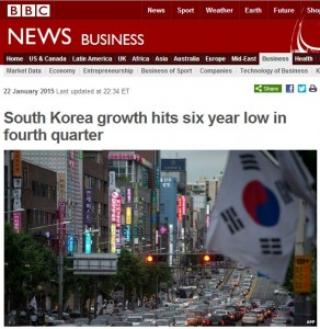 Capture BBC Korea Low Growth six year